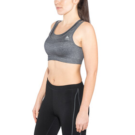 Odlo Ceramicool Seamless Medium Biustonosz sportowy Kobiety, black melange